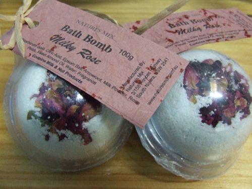 Bath Bomb **Milky Rose**
