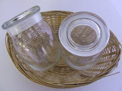 Bean Pot, Glass - (Clear) - 250g