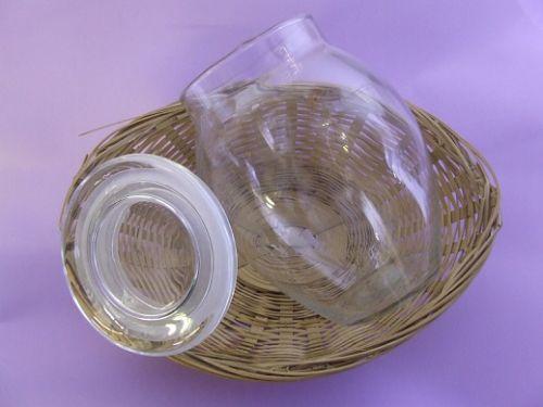 Bean Pot, Glass - (Clear) - 680g