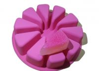 Cake Slices Silicone Soap Mould