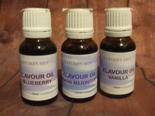 Blueberry Flavour Oil