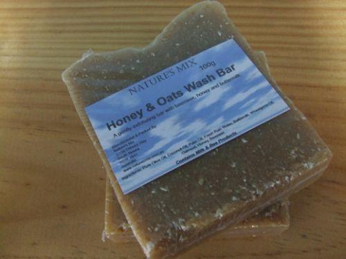 Honey and Oats Wash Bar