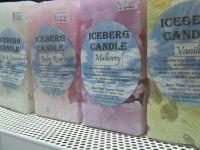 Iceberg Candle