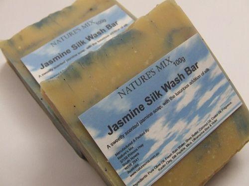 Jasmine Silk Wash Bar