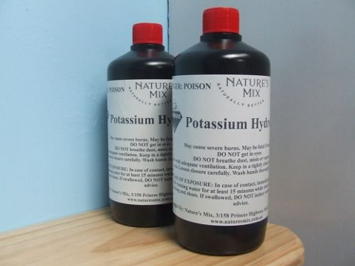 Potassium Hydroxide (KOH) - 1kg
