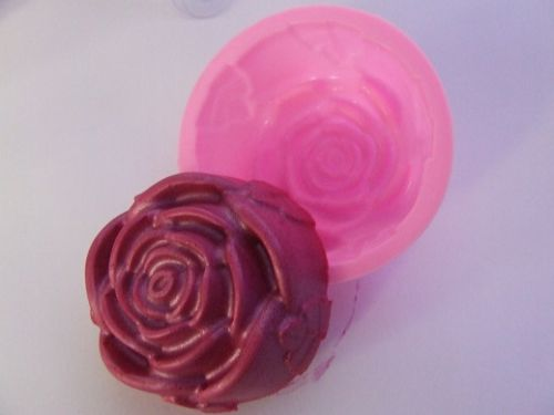 Rose Silicone Soap Mould
