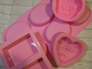 Silicone Soap Moulds