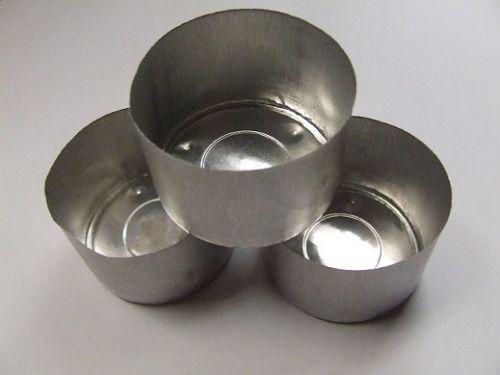 Tealight Cups - Aluminium - 9 hour