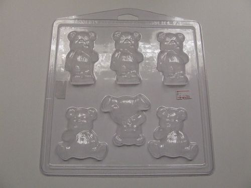 Teddy Bear Soap Mould